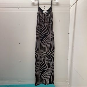 Used, Ladies Long Dress Medium size